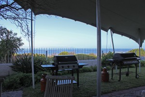 Anna Braai with a view