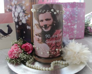 90th hight candle