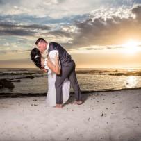 Beach, Bubbles & Blue ~ Hermanus Beach Wedding